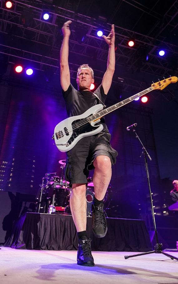 OMD 80s band performs at Downtown Las Vegas Events Center