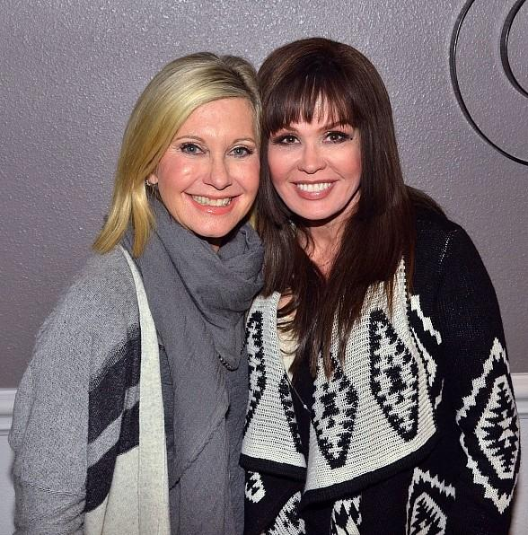 Marie Osmond spotted at Olivia Newton-John's