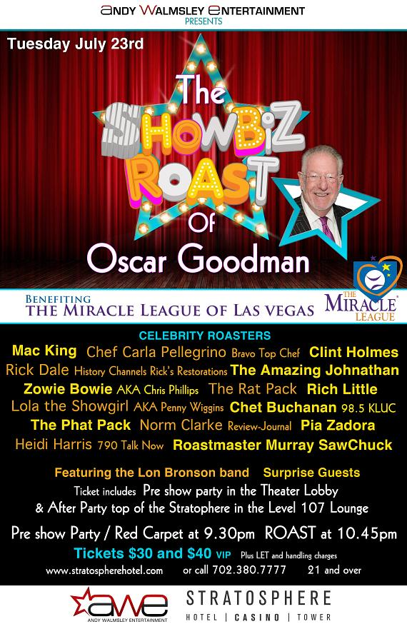 The Showbiz Roast of Oscar Goodman