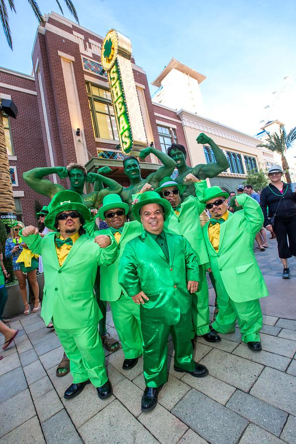 O'Sheas Casino at The LINQ Hotel & Casino Celebrates The Year of the Leprechaun