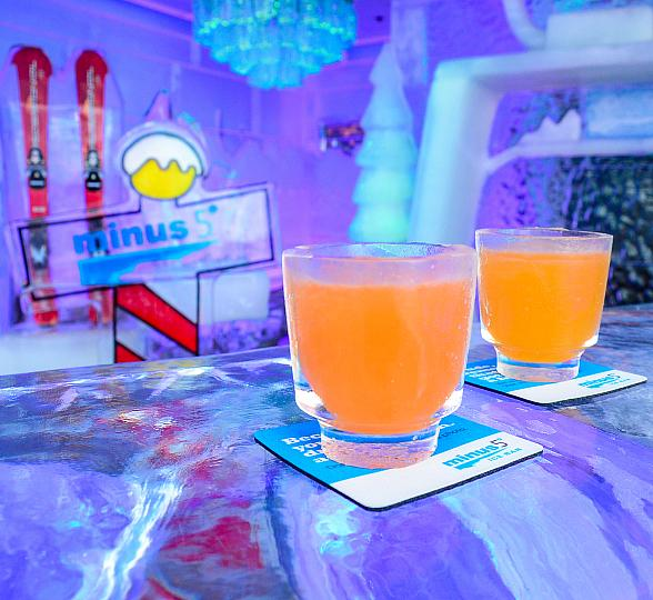 Minus5 Ice Bar Monte Carlo NFL Opening Week Offer