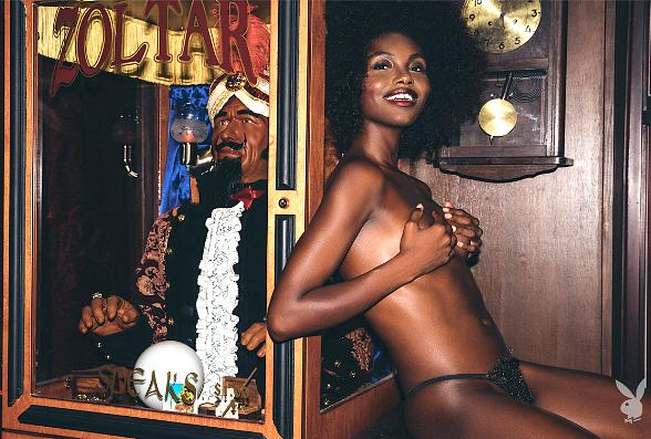 Playboy's October 2017 Playmate is Milan Dixon from Las Vegas, Nevada