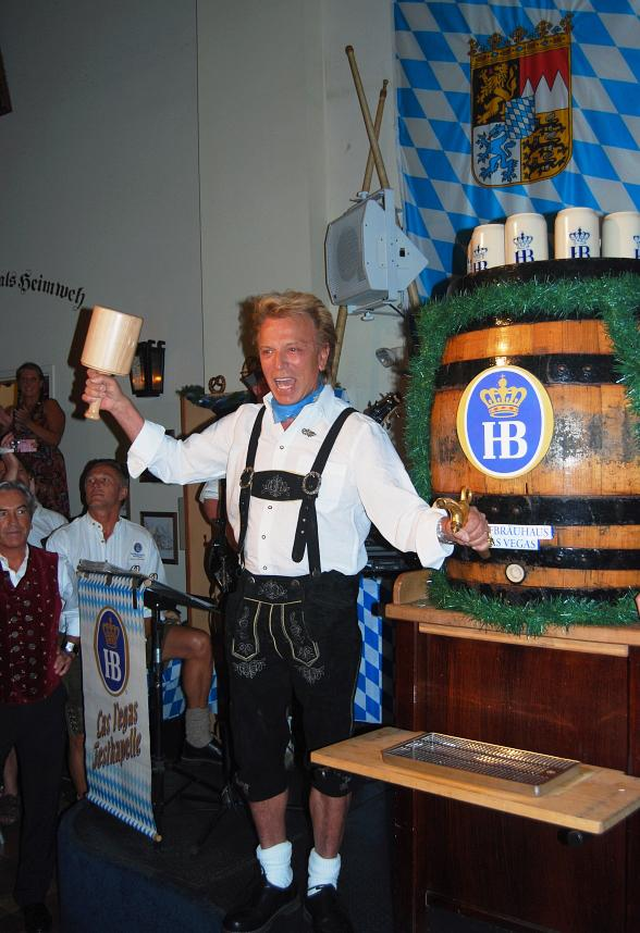 Siegfried at Oktoberfest Kick Off 2010