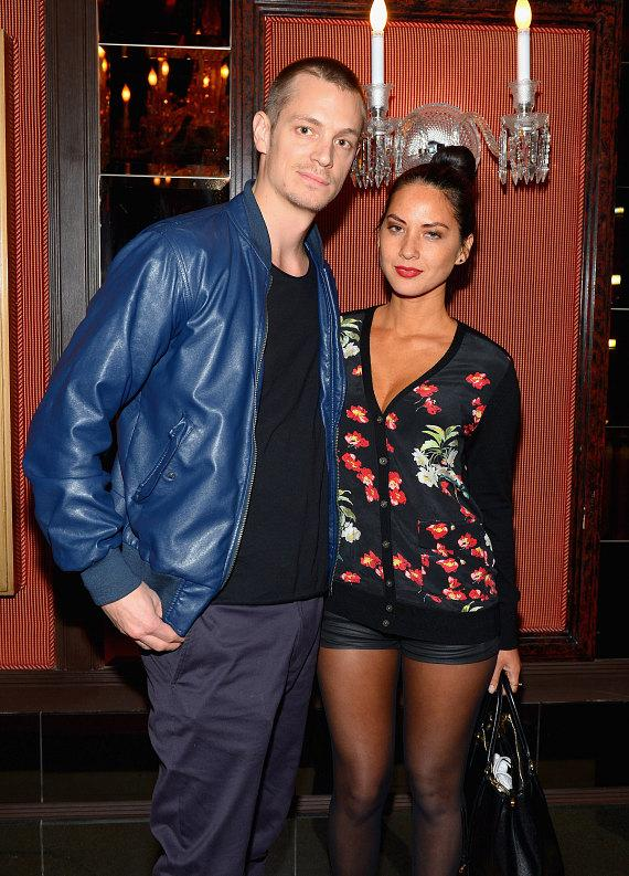 Olivia Munn and Joel Kinnaman at Beacher's Madhouse