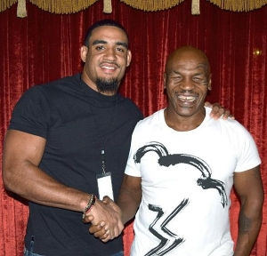 NFL stars Olivier Vernon and Sam Brenner attend