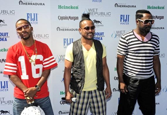 Omarion, apl.de.ap and will.i.am at WET REPUBLIC