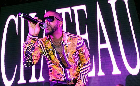 R&B Sensation Omarion performs at Chateau Nightclub & Gardens