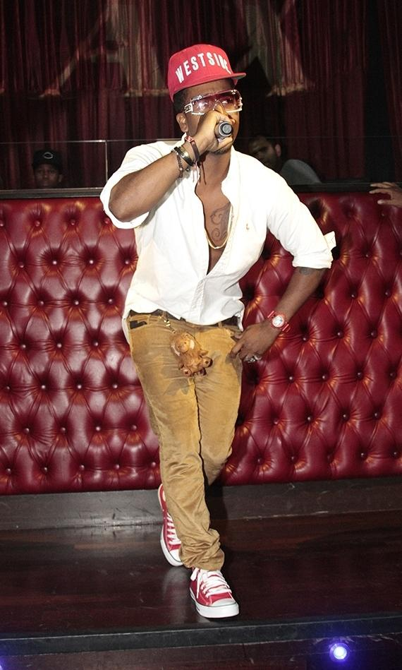 R&B singer Omarion hosts at LAX Nightclub