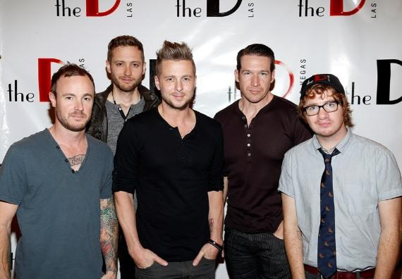 OneRepublic performs at the D Las Vegas