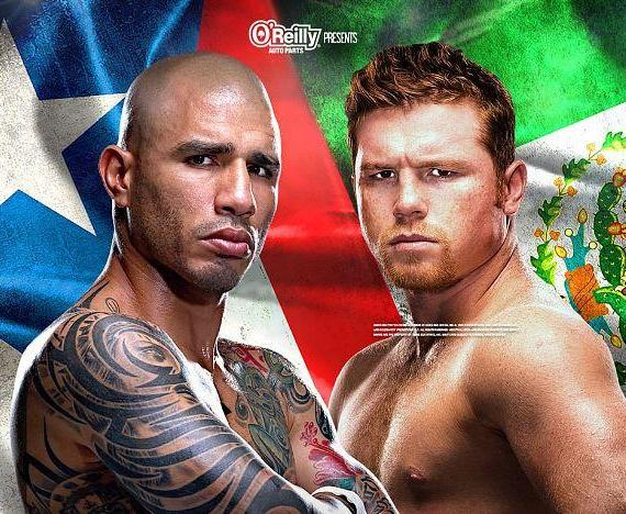 "Watch ""Fight of the Year"" Miguel Cotto vs. Canelo Alvarez at Sapphire Las Vegas Saturday, November 21"