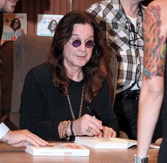 Ozzy Osbourne signs new book at Barnes & Noble in Las Vegas