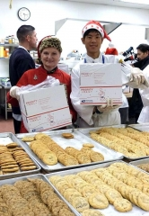 10,000 Cookies for Nellis Air Force Base Troops Baked and Boxed at Le Cordon Bleu