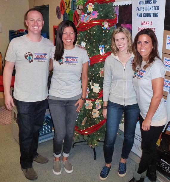 The BOB from Skechers staff at Variety Early Learning Center in Las Vegas