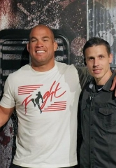 MMA/UFC Superstar Tito Ortiz and Award-Winning Musician Coolio visit Fright Dome at Circus Circus