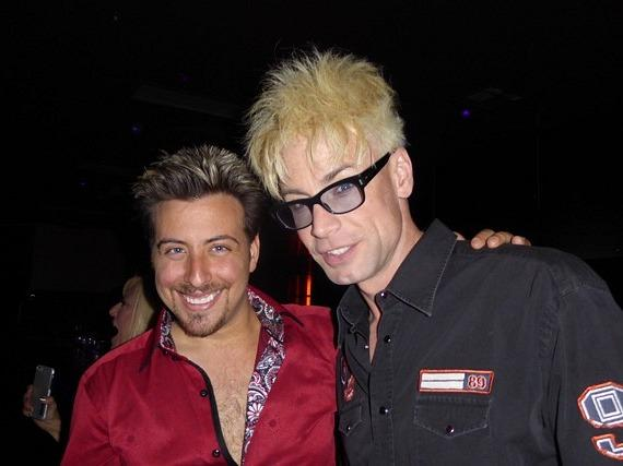 Tommy Wind and Planet Hollywood headliner Murray SawChuck
