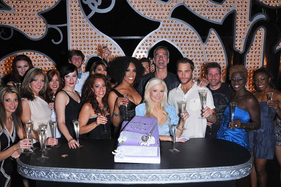 Holly Madison and cast of PEEPSHOW on second anniversary