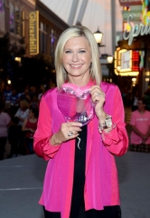 "Flamingo Las Vegas Headliner Olivia Newton-John Lights the High Roller Pink with Chippendales and Breast Cancer ""Thrivers"""