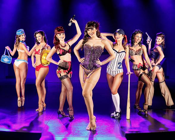 Stratosphere's PIN UP Starring Claire Sinclair Announces New Performance Time as of January 26, 2015
