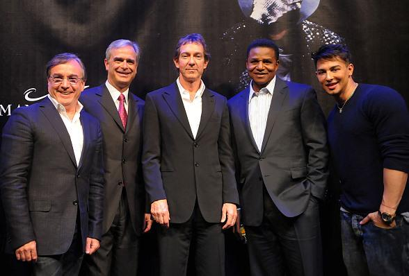 Key Members from Cirque du Soleil, The Estate of Michael Jackson and Mandalay Bay held a press conference at Mandalay Bay on Wednesday, April 27 to announce several new projects that will feature the life and career of Michael Jackson.