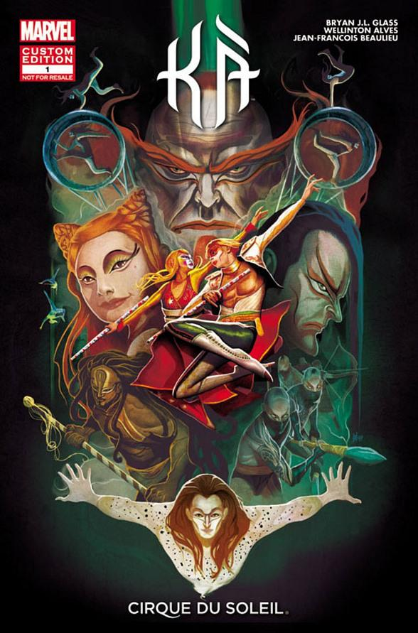 KA by Cirque du Soleil and Marvel Entertainment Bring Epic Story from Stage to Page with All-New Comic Book