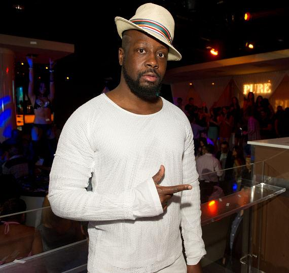 Wyclef Jean at PURE Nightclub Anniversary