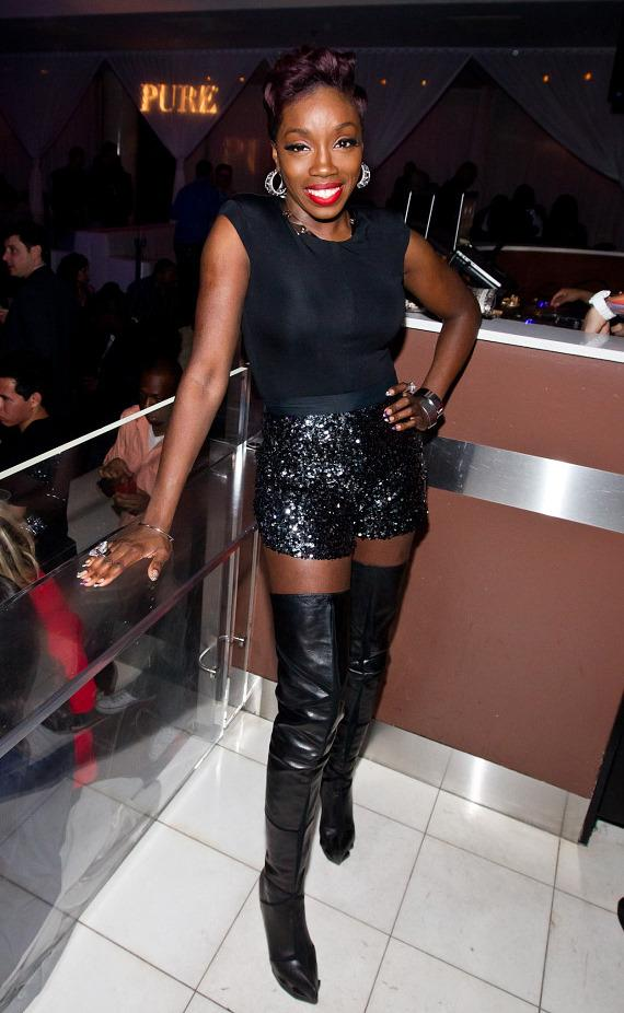 Estelle at PURE Nightclub