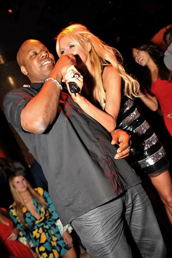 Paris Hilton and Too Short at XS Nightclub