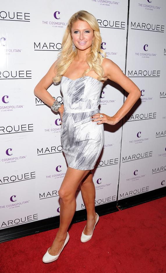 Paris Hilton at Marquee Nightclub at The Cosmopolitan of Las Vegas