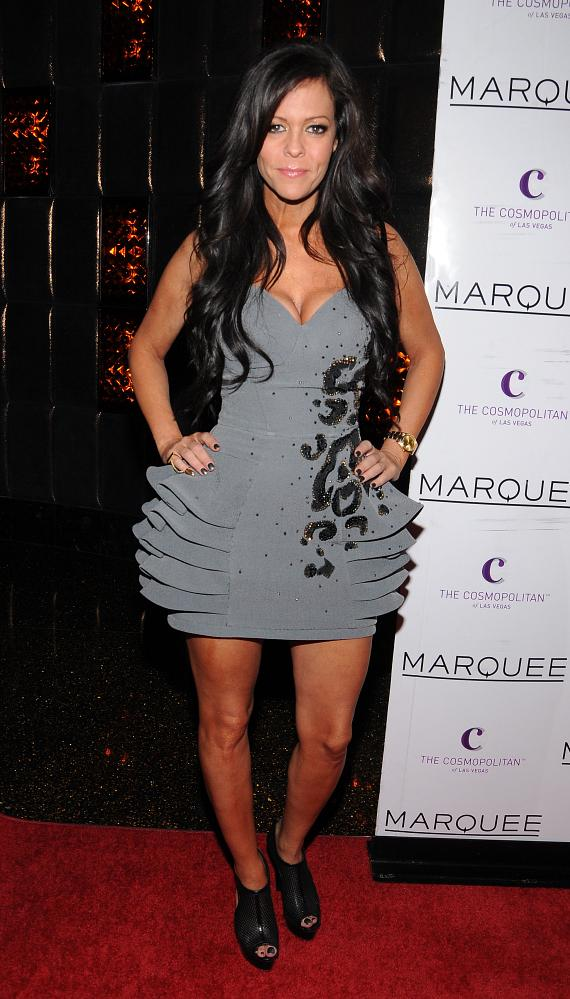 Allison Melnick at Marquee Nightclub at The Cosmopolitan of Las Vegas