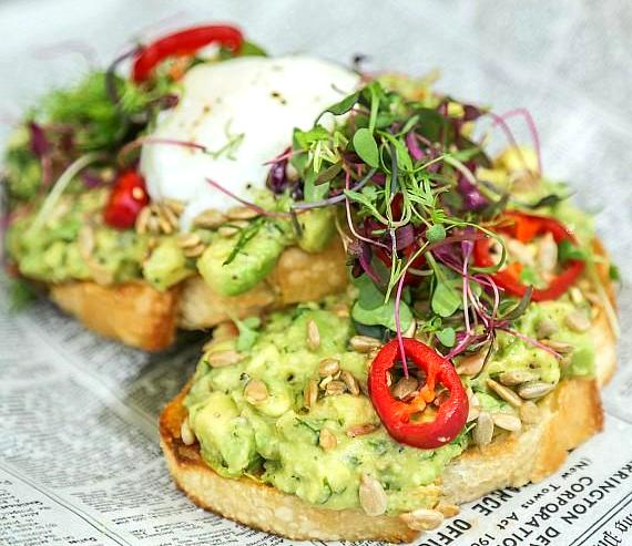 Park Avocado Toast