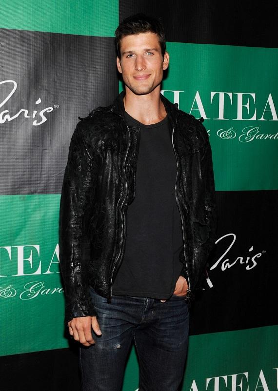 Parker Young Poses on the Red Carpet at Chateau Nightclub & Gardens