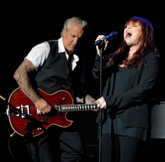 Pat Benatar & Neil Giraldo perform at The Pearl at Palms Casino Resort