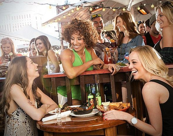 Shots, Shots, Shots at Cabo Wabo's Spring Break Patio Bash