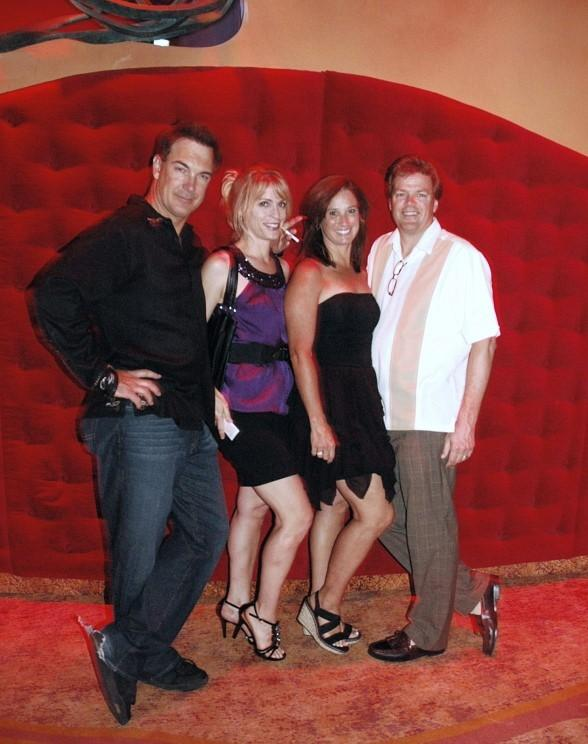 Funny Man Patrick Warburton Enjoys Double Date Night at Cirque du Soleil's Zumanity