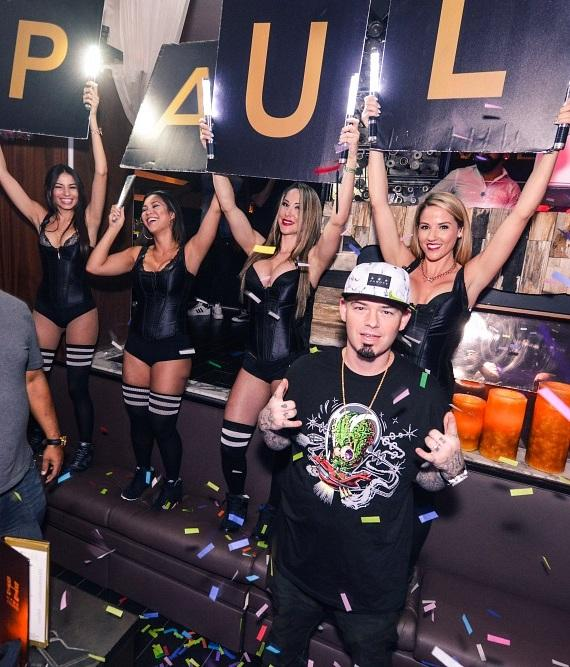 Paul Wall performs during Infamous Wednesdays at Hyde Bellagio, Las Vegas