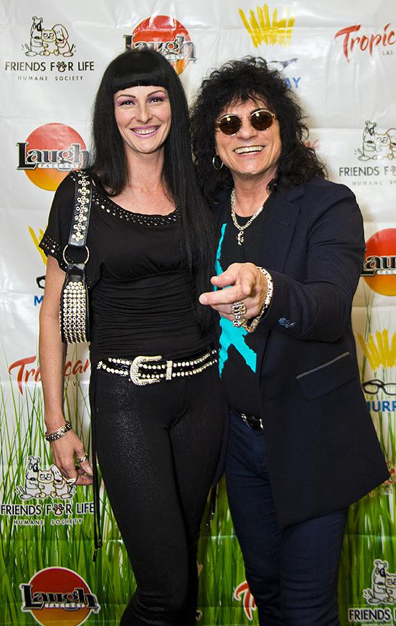 Paul Shortino and wife Carmen