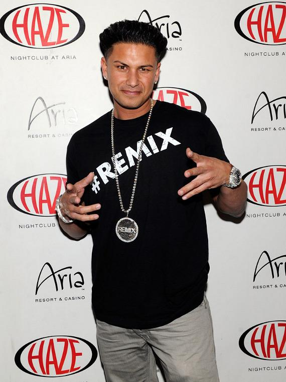 DJ Pauly D arrives at Haze Nightclub
