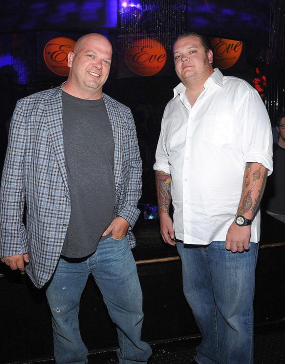 Rick Harrison and Corey Harrison of Pawn Stars