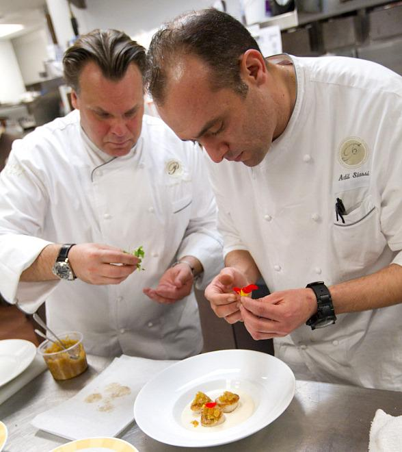 Chef François Payard and Chef Adil Slassi