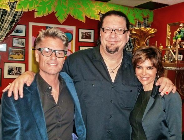 Lisa Rinna and Harry Hamlin Visut the Penn & Teller Show at Rio All-Suite Hotel & Casino