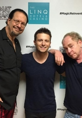 "Penn & Teller Attend ""Mat Franco – Magic Reinvented Nightly"" at The LINQ Hotel & Casino"
