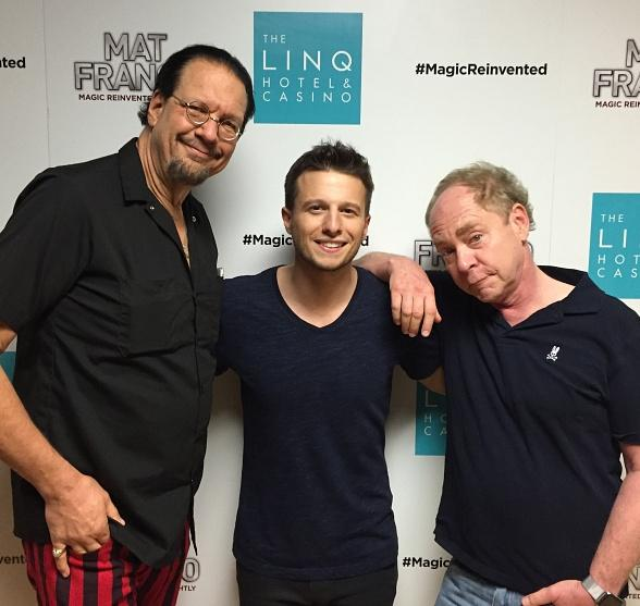 "Penn & Teller Attend ""Mat Franco - Magic Reinvented Nightly"" at The LINQ Hotel & Casino"
