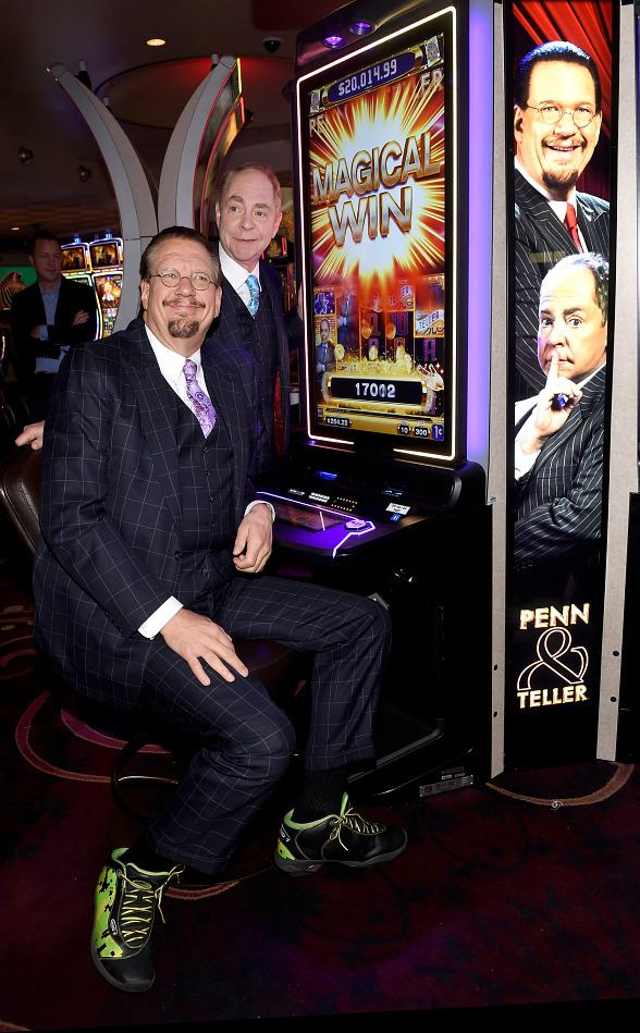 Penn & Teller Unveil Everi's Penn & Teller Slot Game at Rio All-Suite Hotel & Casino Las Vegas