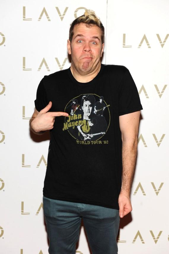Perez Hilton at LAVO