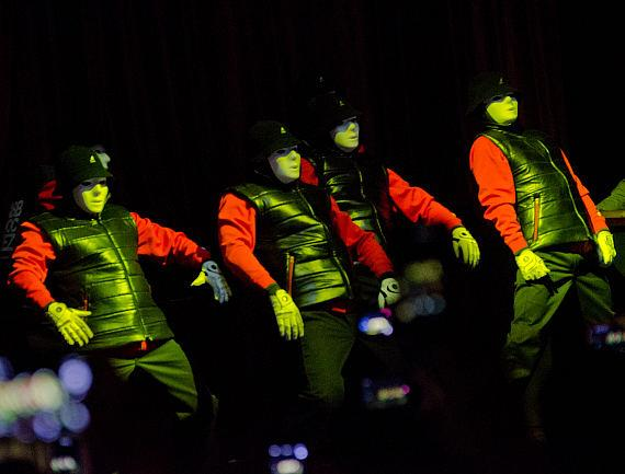 Jabbawockeez perform at LAX Nightclub