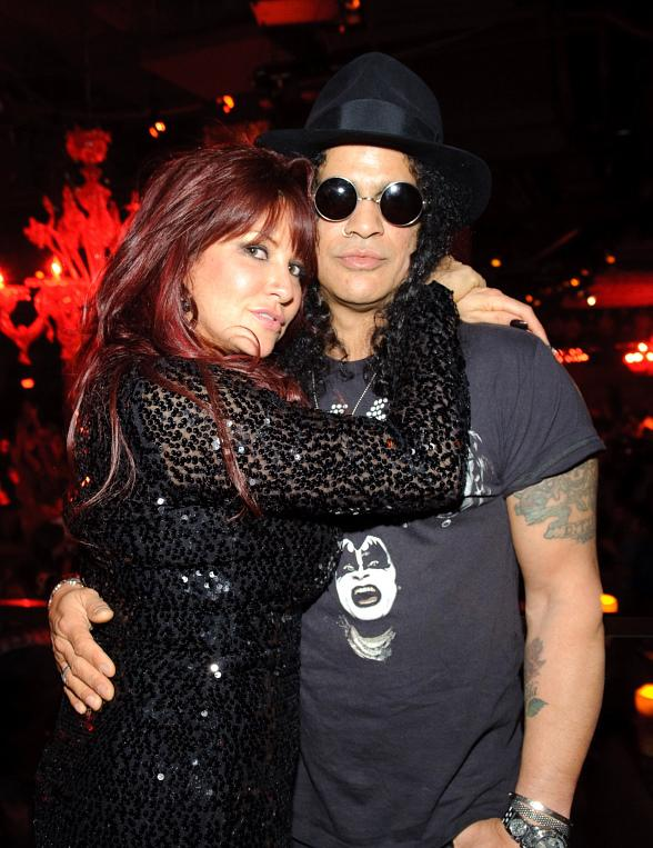 Perla and Slash at TAO