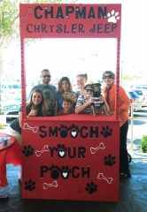 """Chapman Chrysler Jeep Kicks off Its Fourth Annual """"Pamper Your Pet"""" Event in Honor of Pet Wellness Month and Adopt-A-Dog Month"""
