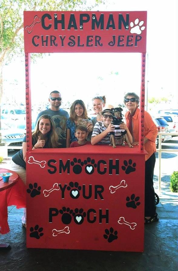 "Chapman Chrysler Jeep Hosts Third Annual ""Pamper Your Pet"" Day October 15"