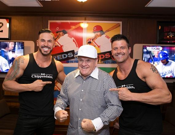 Pete Rose and Chippendales