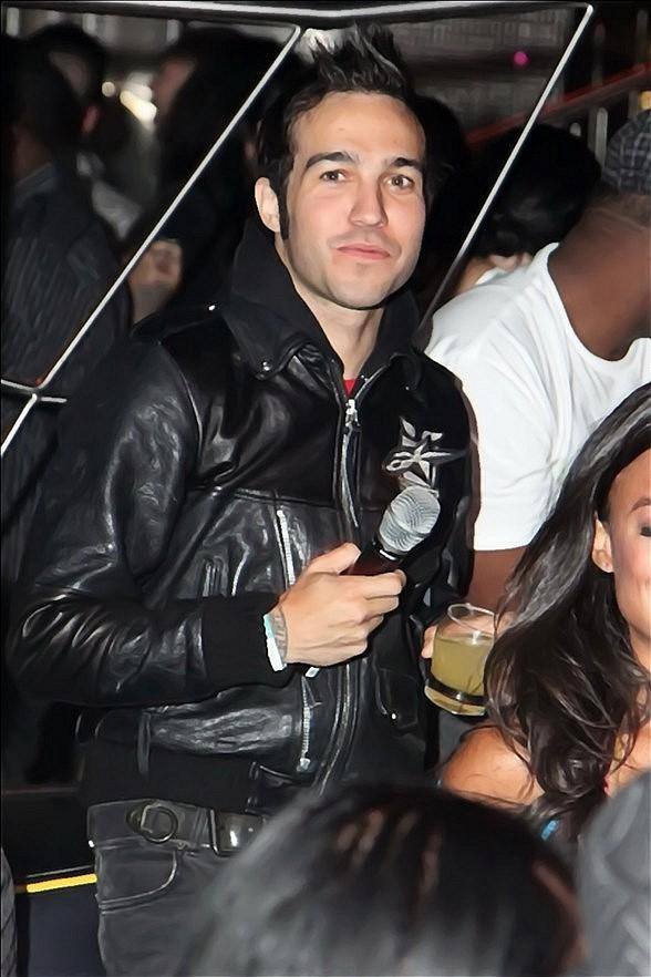 Pete Wentz at Moon Nightclub